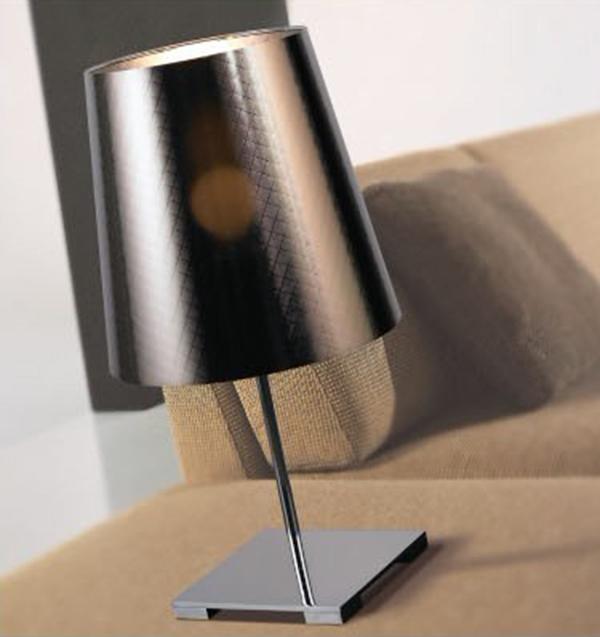星级酒店用品 创意用品 设计感灯罩 简约造型 电镀灯座 酒店客房用品