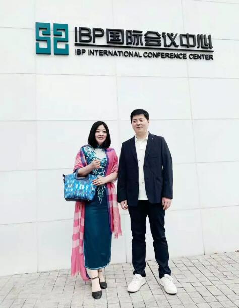 仇静坚女士与尚美生活集团CEO马博先生合影.jpg