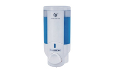 单头手动皂液器(银色) CD-1016A 200ml酒店客房卫浴配套
