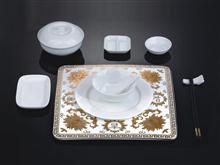 骨瓷 精美陶瓷 高档餐具GC09-066B05 JJHOME酒店用品1号店