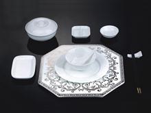 骨瓷 精美陶瓷 高档餐具GC09-066B01 JJHOME酒店用品1号店