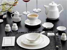 骨质陶瓷 美婷系列 餐具套装1  JJHOME酒店用品1号店