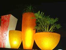 酒店用品 感光花器 欧式复古 酒店装饰摆件 陶瓷花盆 花艺花器 餐桌花瓶 客房摆设 工艺品