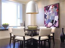 星级酒店用品 创意用品 纱质面料 简约灯 金属烤漆 极简时尚 酒店客房用品 创意灯