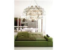 星级酒店用品 创意用品 镜面PVC材质 简约灯 酒店客房用品 创意灯