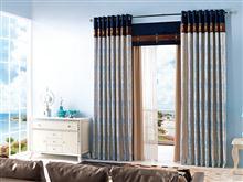 星级酒店窗帘设计 现代风格 定制 上下拼接 中式窗幔 酒店客房窗帘设计