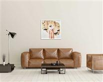 景德镇陶瓷高温颜色釉 瓷板画 境系列之一