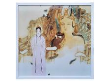 景德镇陶瓷高温颜色釉 瓷板画 境系列之二