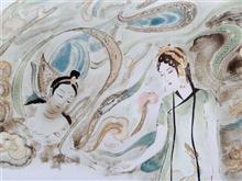 景德镇陶瓷艺术瓷板画 镜系列之三