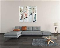 景德镇陶瓷高温颜色釉 瓷板画 境系列之五